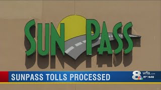 A backlog of SunPass toll charges is gone. Those charges are now sh...