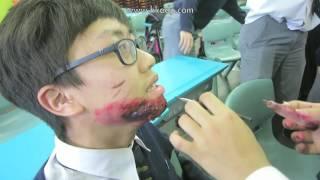 保良局胡忠中學特技化妝2015﹣16
