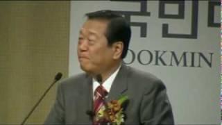 2009年12月、600人規模で訪中した後、 小沢氏は韓国へ。そして...