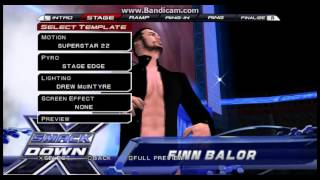 WWE SVR 11 Finn Balor (Balor Club) Entrance