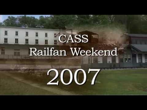 Cass Railfan Weekend 2007 - geared steam in th West Virginia mountains
