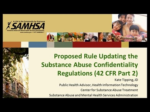 Proposed Rule Updating the Substance Abuse Confidentiality Regulations (42 CFR Part 2)