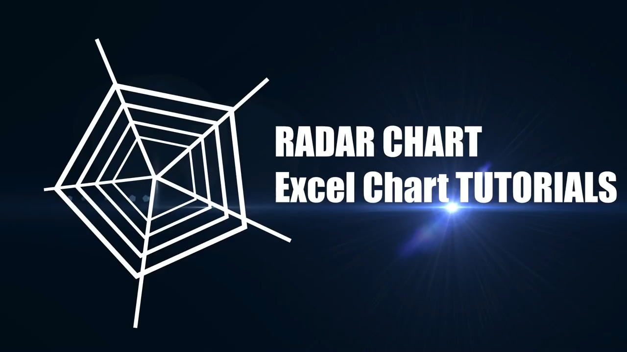 Spider Chart or Radar Chart described