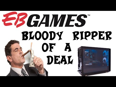 Way Overpriced PC   EB Games Rant