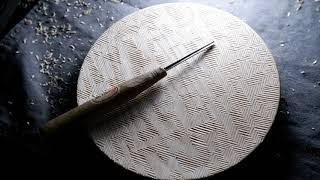 목공작업중 짧은영상 - 카빙접시 완성 woodcarvi…