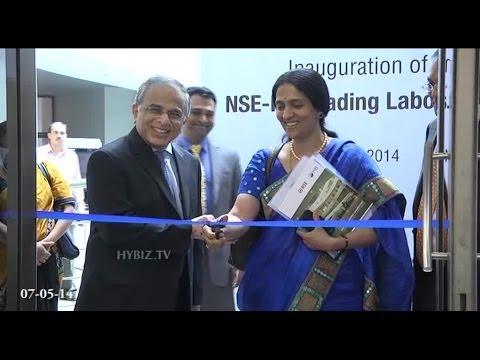 NSE ISB Trading Laboratory Inauguration