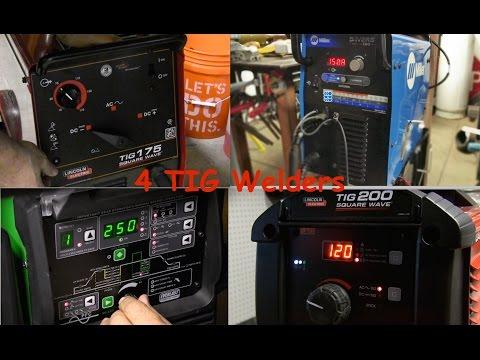 Tig Welder Review Pt2 - AC/DC Tig Welding Machines