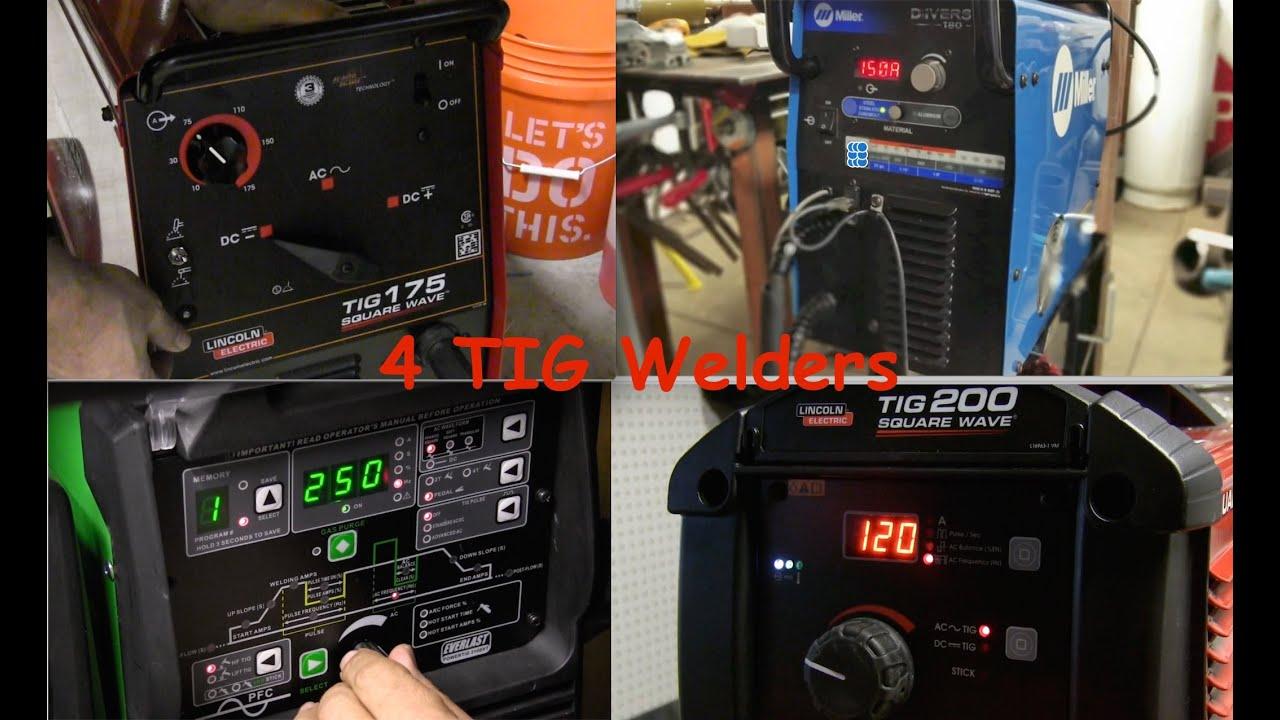 Tig Welder Review pt2 - AC/DC Tig Welding Machines - YouTube