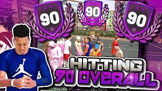 90 Overall Shot Creating Slasher / Sweaty Comp Games - NBA 2K19 3v3