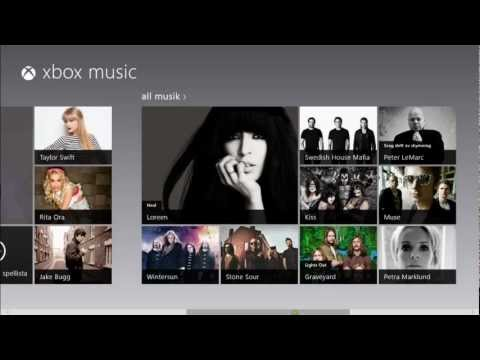 Xbox Music On Windows 8 HD Review