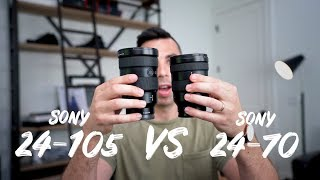 Why you should get the Sony 24-105 lens INSTEAD of the 24-70 GM!
