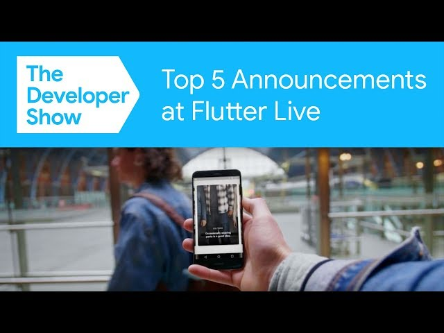 Flutter 1.0, Square Reader SDK, 2Dimensions Flare, & More! (Flutter Live Top 5 Recap)