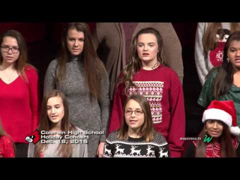 Colerain High School Holiday Concert: December 18, 2016