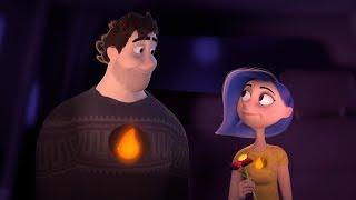 Погасший - короткометражные мультфильмы про любовь
