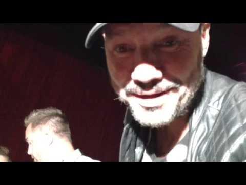 Marcelo Tinelli fue a ver al Tirri al teatro: ¡Por fin laburó!