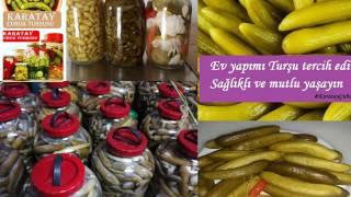 DOĞAL Çubuk Turşusu KARATAY Doğal Gıda TANITIM VİDEOSU