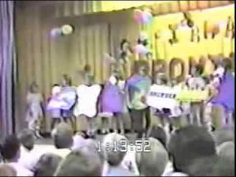 Joella Kindergarten graduation in 1983 at Harkers Island Elementary School