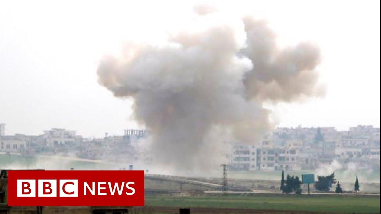 Syria war: Alarm after 33 Turkish soldiers killed in attack in Idlib - BBC News