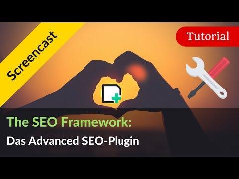 The SEO Framework: WordPress SEO Plugin Alternative zu Yoast SEO