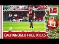 Top 10 Free-Kicks Hakan Calhanoglu - Bundesliga 2018 Advent Calendar 11