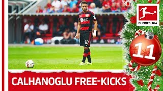 Top 10 Free-Kicks Hakan Calhanoglu - Bundesliga 2018 Advent Calendar 11