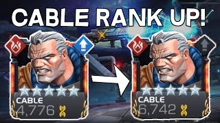 5 Star Cable Rank Up and Gameplay! - Marvel Contest Of Champions
