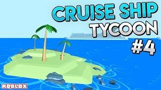 EXPLORING NEW ISLAND UPDATES - Roblox Cruise Ship Tycoon #4
