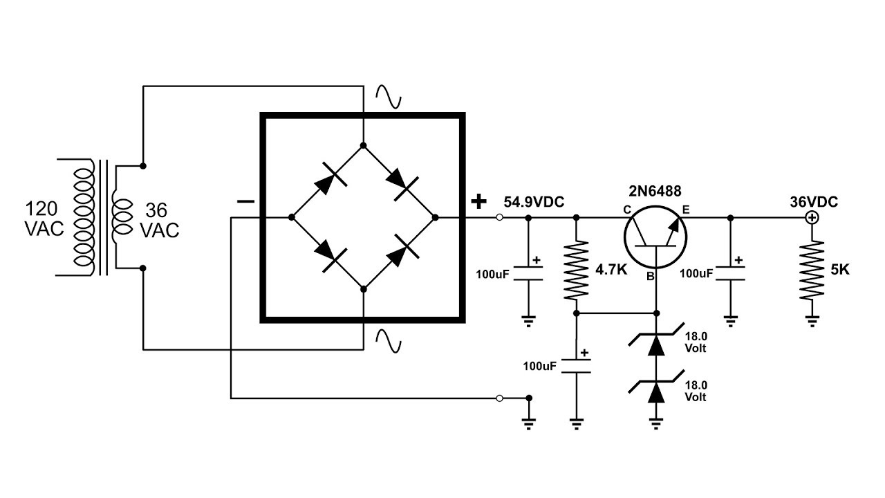 make a voltage regulator