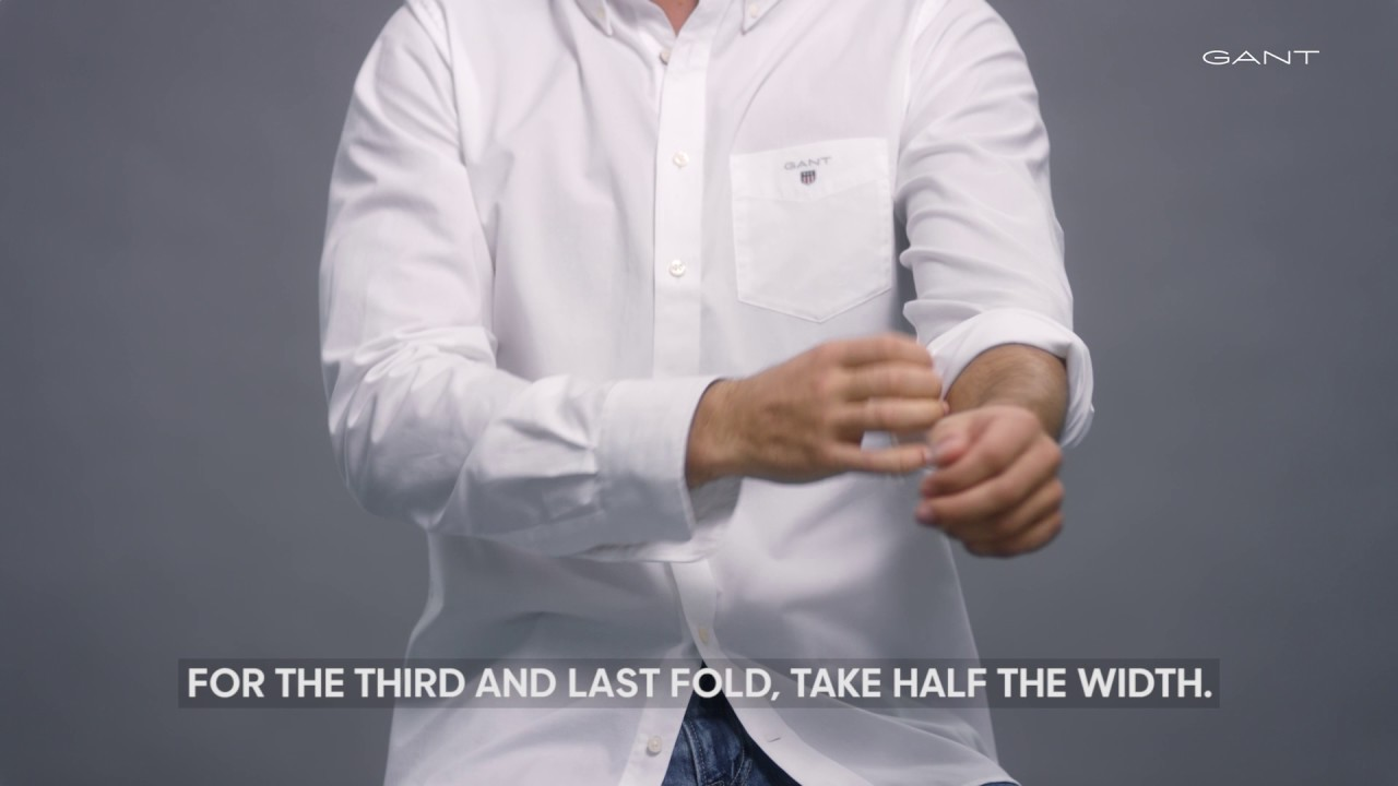 Konsten att kavla upp ärmarna | Skjortguide | GANT Sverige