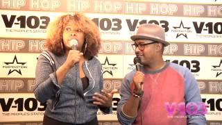 Mad Skillz At The V-103 Hip Hop Conference With Ramona DeBreaux
