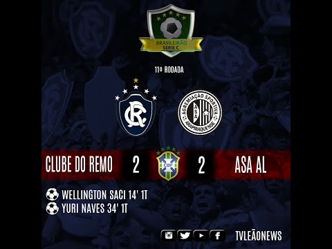Série C - Asa AL 2 x 2 Clube do Remo - Jogo Completo