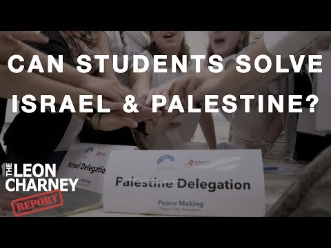 Can These Students Solve the Israeli-Palestinian Conflict? | Leon Charnery Reporters
