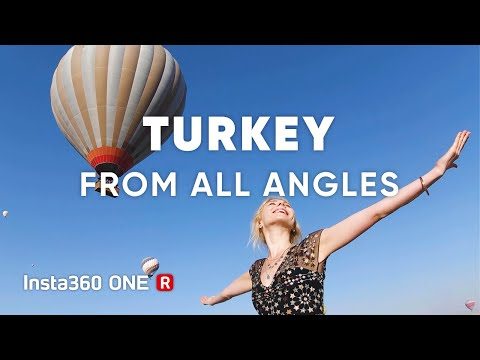 Travel Turkey From All Angles – Insta360 ONE R