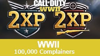 COD WW2 Double XP For Multiplayer, Zombies, & Complainers...?
