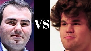 Shakhriyar Mamedyarov vs Magnus Carlsen : Grand Chess Tour Paris (Rapid) (2017) : Nimzo-Indian