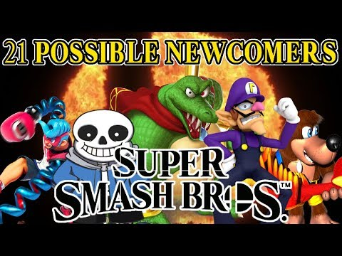 21 Newcomers That MIGHT Be in Super Smash Bros. Switch