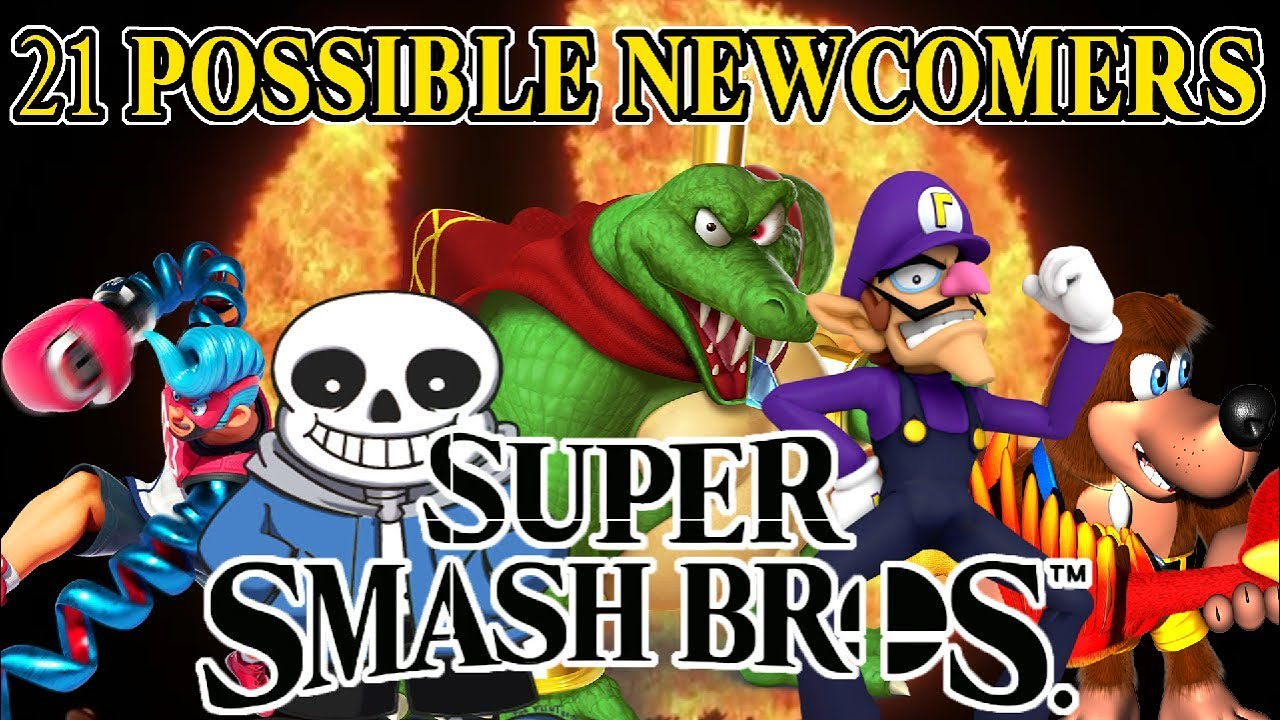 21 Newcomers That MIGHT Be in Super Smash Bros. Switch ...