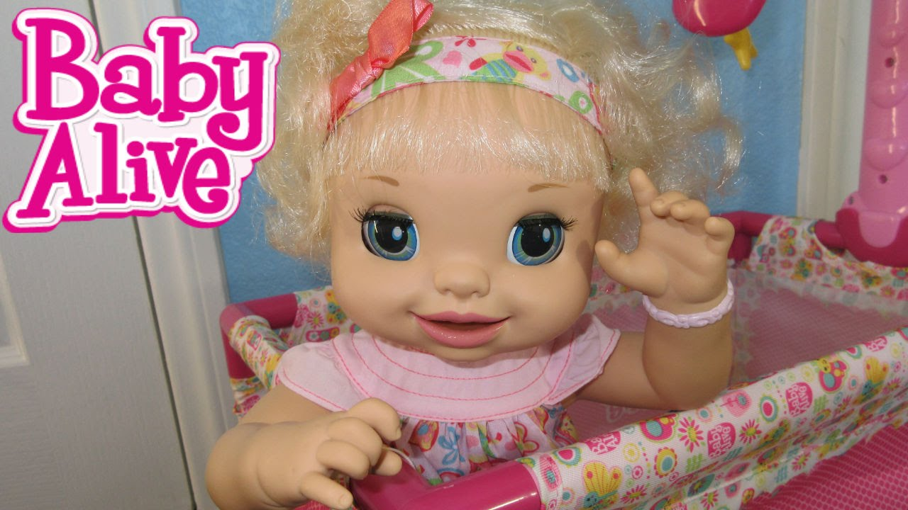 Baby Alive Name Reveal Feeding Amp Diaper Change Youtube