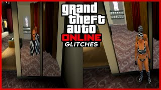 GTA 5 Online: FEMALE Invisible Legs, Arms, & Body + Checkerboard Outfit 1.24/1.25/1.26