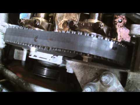 FORD FIESTA ZETEC 1 4 TIMING BELT REPLACMENT,part 1