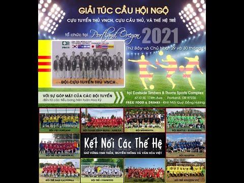 Tournament bóng đá người Việt ở USA tổ chức ở Portland Oregon Memorial Day 5-2021