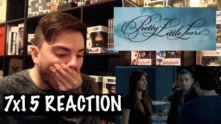 PRETTY LITTLE LIARS 7x15 - 'IN THE EYE ABIDES THE HEART' REACTION