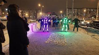 """Флешмоб предложение руки и сердца / ТРК """"СемьЯ"""" / г Пермь"""