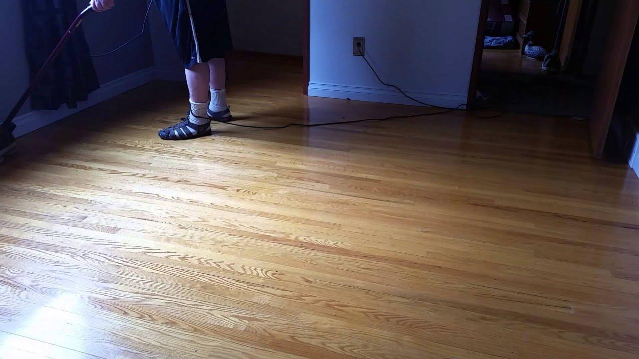Wax On Off Repeat 50 Year Old Hardwood