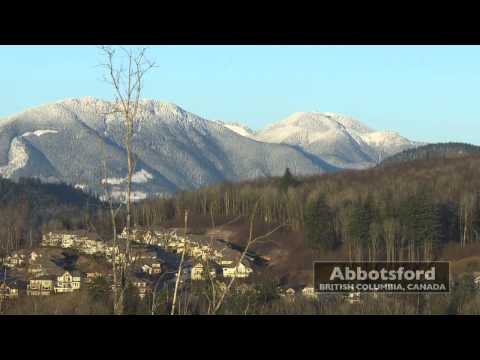 Winter View From Eagle Mountain • Abbotsford, British Columbia • HD
