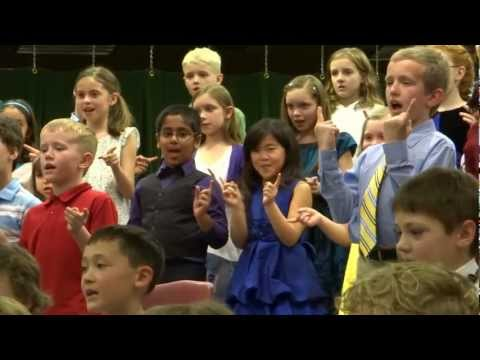 Jefferson Elementary School - 2nd-3rd Grades Musical 2013 (part 3)