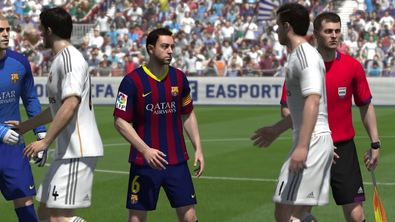 Fifa 14 ps4 real madrid v fc barcelona gameplay 1080p hd fifa 14 ps4 real madrid v fc barcelona gameplay 1080p hd voltagebd Image collections