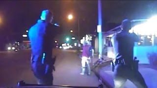 Newly Released Dashcam Video Shows California Police Shooting Unarmed Man with Hands Up