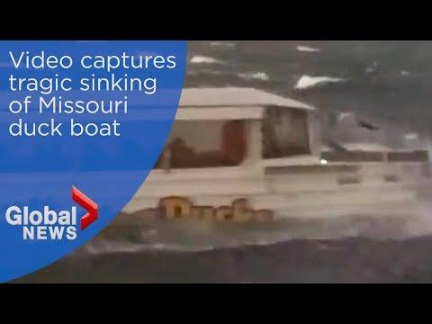 Duck boat accident: Horrific video shows vessel capsizing