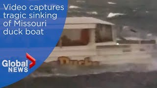 Duck boat accident: Horrific video shows vessel capsizing
